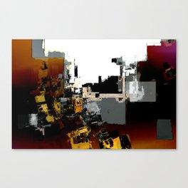 Rust Belt Abstract 1 Canvas Print