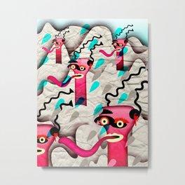 Ugly Mountain Detonation I Metal Print
