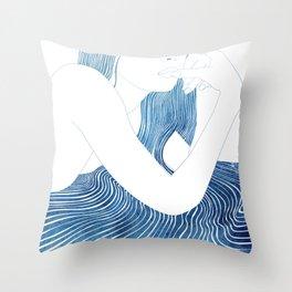 Nereid XLV Throw Pillow