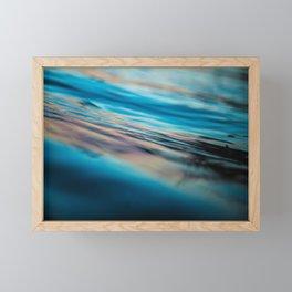Oily Reflection Framed Mini Art Print