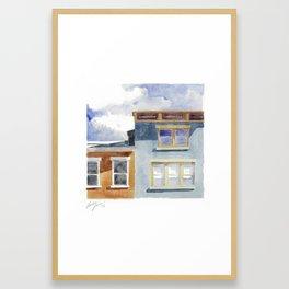 Pershing and Main Framed Art Print