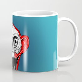 Unicorn Monkey Skull Coffee Mug