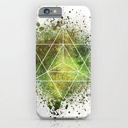 Star Tetrahedron the Merkaba Vehicle of Light iPhone Case