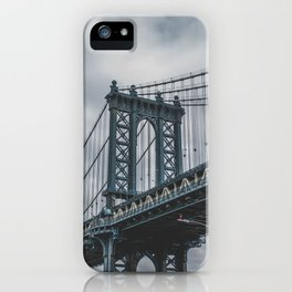 Manhattan Bridge, New York City iPhone Case