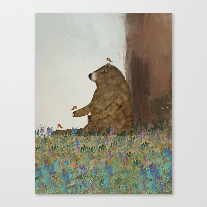 Afternoon Song Canvas Print