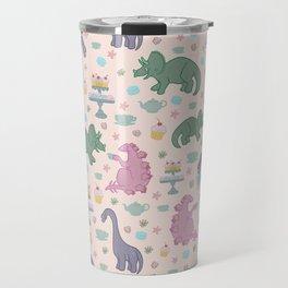 Dinosaur Tea Party Travel Mug