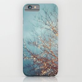December Lights iPhone Case