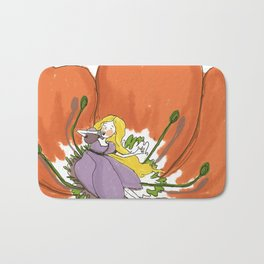 Wake me up in spring time Bath Mat