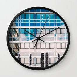 In My Town Wall Clock