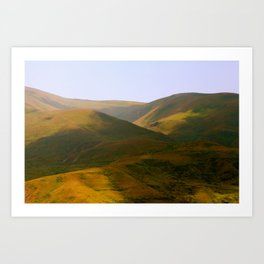 CAUCUS MOUNTAINS  Art Print