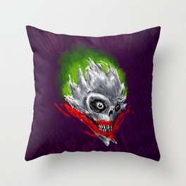 Death Joke Throw Pillow