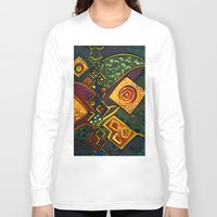 sparkles Long Sleeve T-shirts featuring GALAXY SPARKLES by Deyana Deco