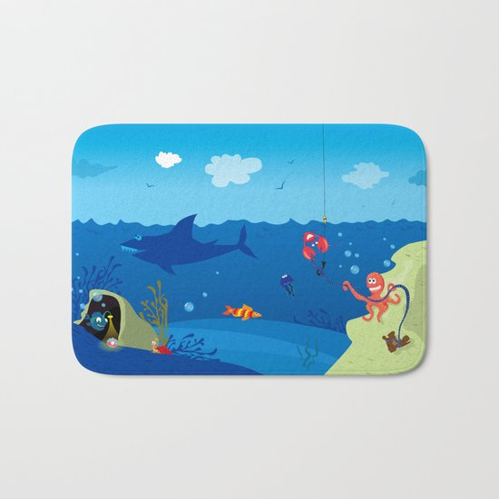 Underwater World Bath Mat