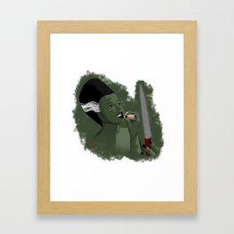 Killer Bride Framed Art Print