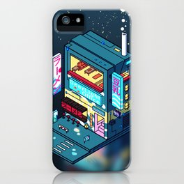 Cyberpunk Soymilk iPhone Case