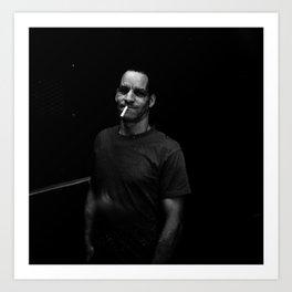 NYC holga portraits 5 Art Print