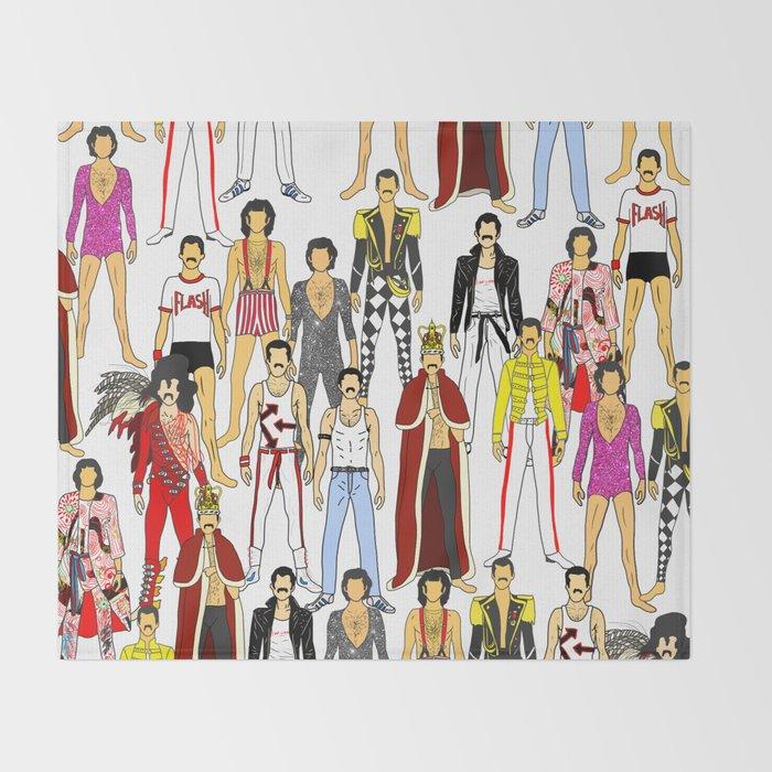 Outfits of Freddie Fashion Throw Blanket