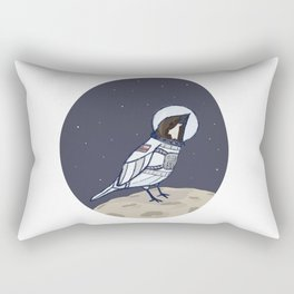 Space Sparrow Rectangular Pillow