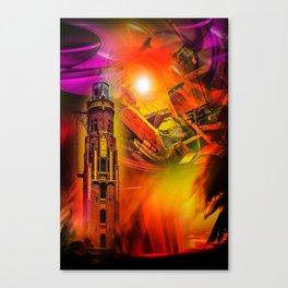 Lighthouse romance Canvas Print