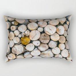 Logged Rectangular Pillow