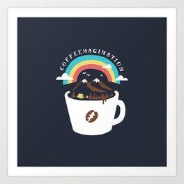 Coffeemagination Art Print