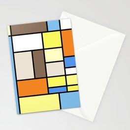 The Colors of / Mondrian Series - To toro - Miyazaki Stationery Cards