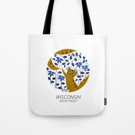 American Cats - Wisconsin Tote Bag