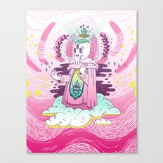 Pink Hush Hush Canvas Print