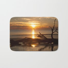 Sunrise with Driftwood Bath Mat