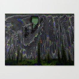Digital Fog Canvas Print