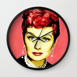 Lucille Ball - Lucy - Pop Art Wall Clock