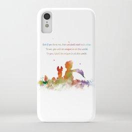 Little Prince Fox iPhone Case