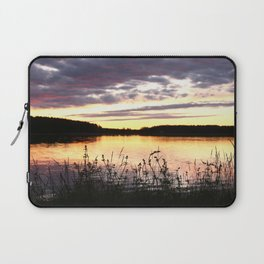 Sunset By The Lake  Laptop Sleeve