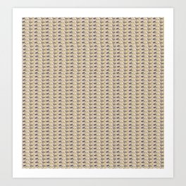 Steve Buscemi's Eyes Tiled Pattern Comic Art Print