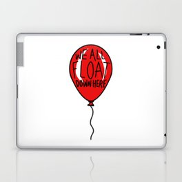 IT We All Float Down Here Red Balloon Laptop & iPad Skin