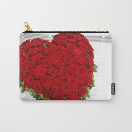 Heart of red roses Carry-All Pouch