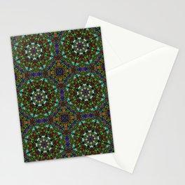 Floral Kaleidoscope  Stationery Cards