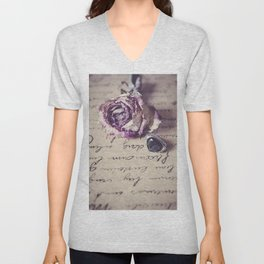 The way to your heart Unisex V-Neck