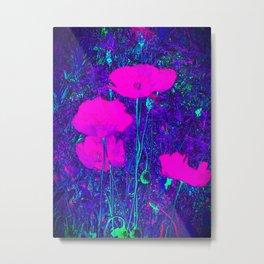 Summer Texture (Purple) Metal Print