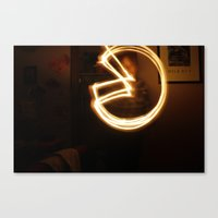 pacman Canvas Prints featuring Pacman by Audrey's Photography