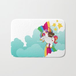 Chestnut Girl And Starlight Bath Mat