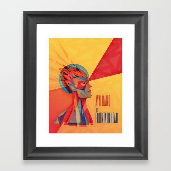 The Fountainhead Framed Art Print