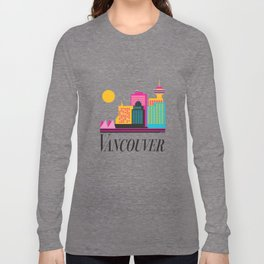 Vancouver Coal Harbour Long Sleeve T-shirt