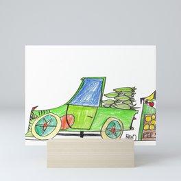 Corn to Market Mini Art Print
