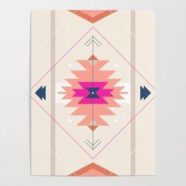 Kilim Inspired Poster