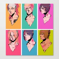bleach Canvas Prints featuring bleach by aspiin