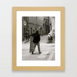 Firenze #02 Framed Art Print