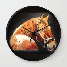 Old Chestnut Wall Clock