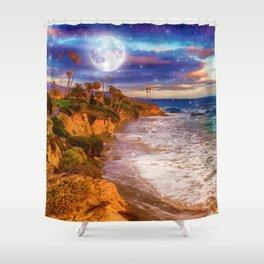 Laguna Moon Shower Curtain