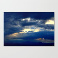 Deep Blues Canvas Print